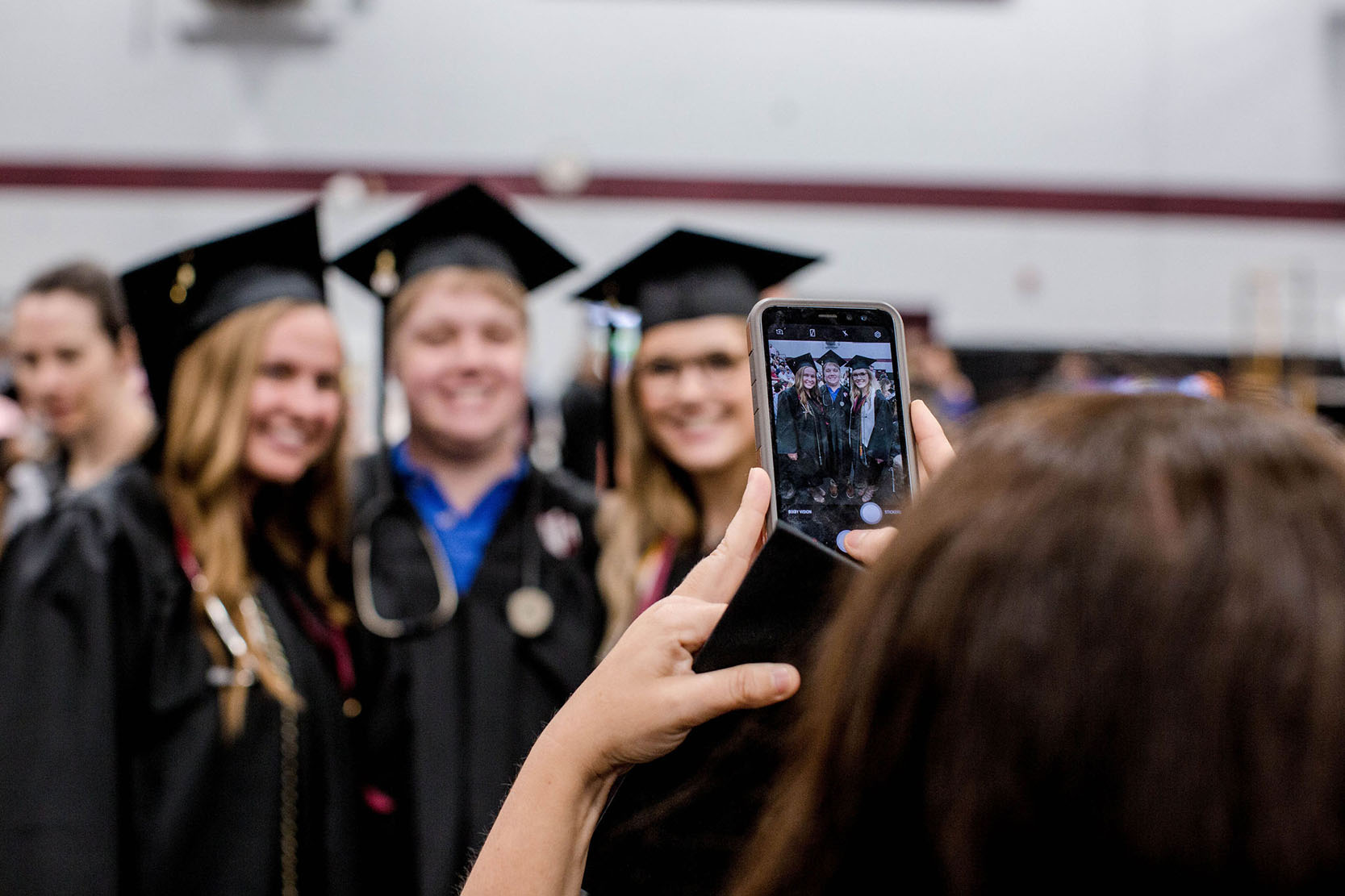 Group of students at graduation