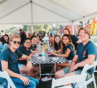 Cumberland University students