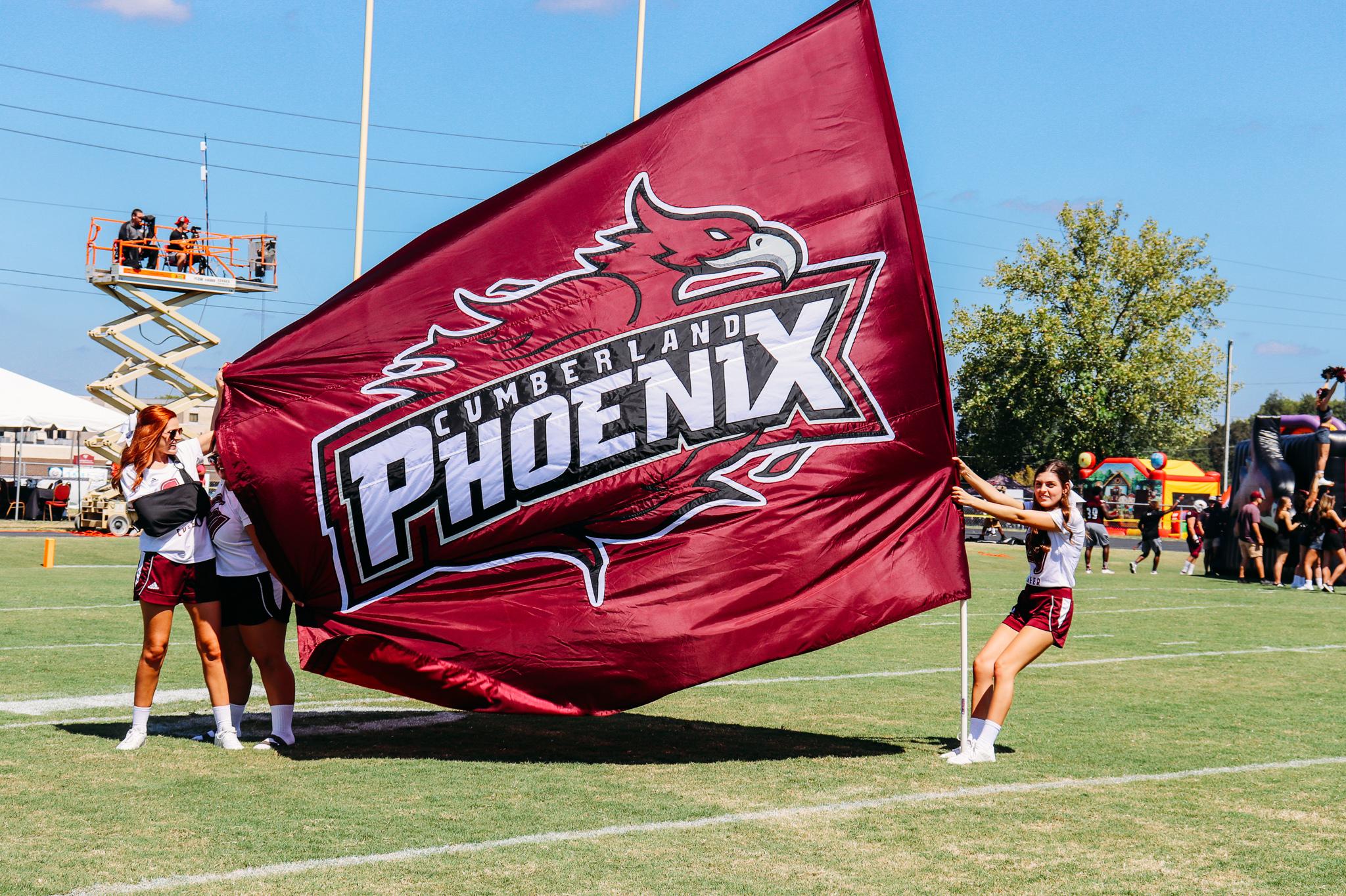 CU Pride flag at football game