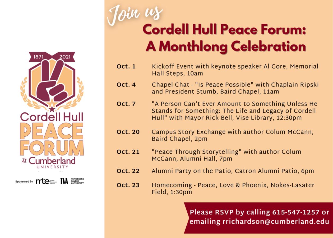 Peace Forum Events